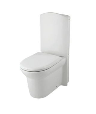 Washdown toilet with floor screw+Cistern with dual flush LM1002+LM1003