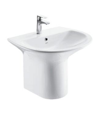 Monolithic washbasin NI3100