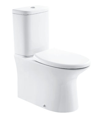 Washdown toilet with floor screw+Cistern with dual flush NI1002+NI1003