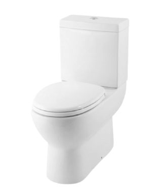 Washdown rimless toilet with floor screw+Cistern with dual flushBR1002R+BR1003