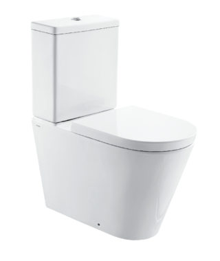 Washdown rimless toilet with floor screw + Cistern with dual flush CR1002R+CR1003