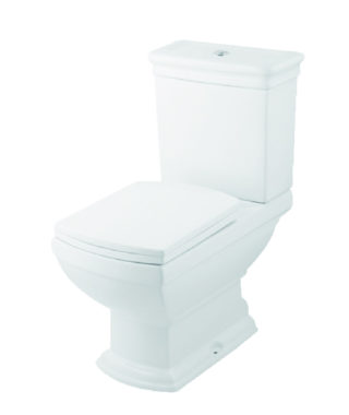 Washdown toilet with floor screw+Cistern with dual flush OR1002+OR1003