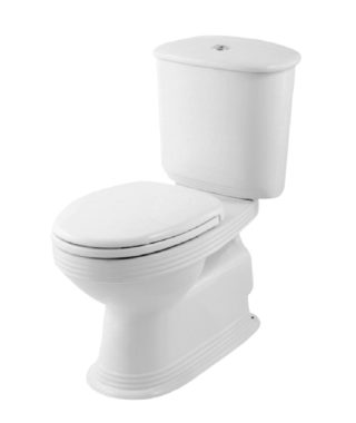 Washdown toilet with floor screw+Cistern with dual flush MA1003+MA1002