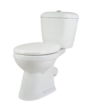 washdown toilet with floor screw & Plastic soft seat cover+Cistern with single flush PR1002S+PR1003S
